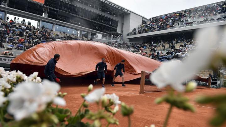 Loš dan Novaka Đokovića zaustavili kiša i jak vjetar