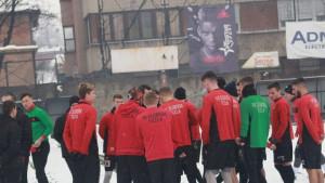 FK Sloboda na pripremama u Međugorju