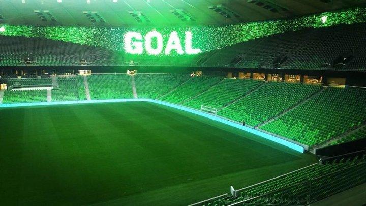 Novi stadion Krasnodara djeluje impozantno