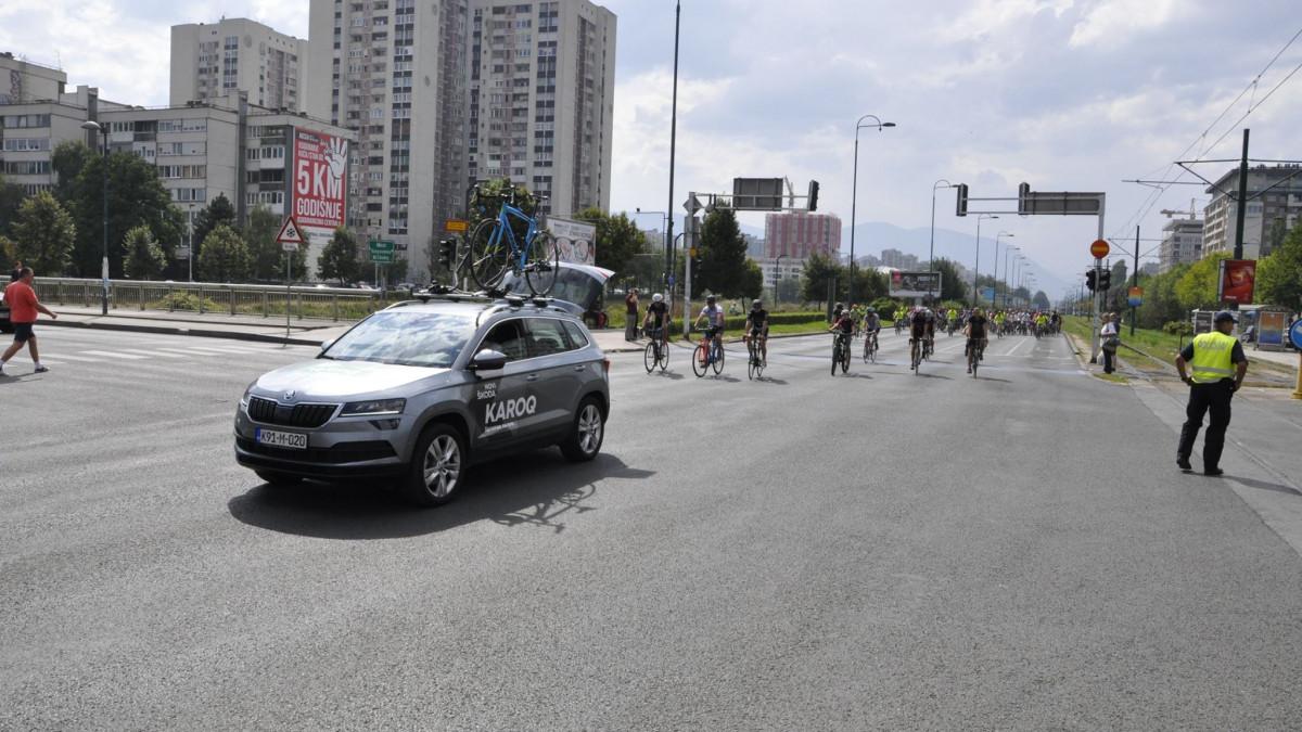 ŠKODA BiH i Porsche Sarajevo i ove godine uz najveću biciklističku manifestaciju Giro Di Sarajevo