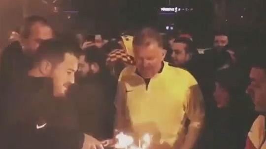Navijači Kayserispora na spektakularan način čestitali rođendan Prosinečkom