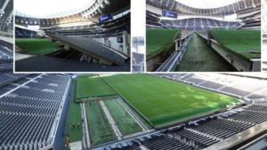 Tottenhamov stadion za nekoliko sati postao NFL teren, a svi se pitaju gdje je završio travnjak