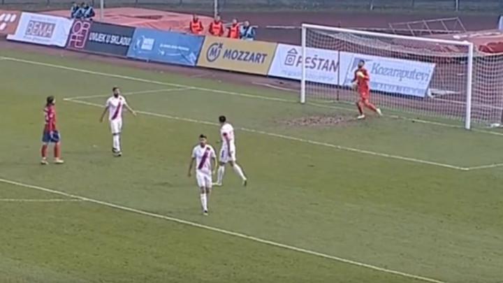 Vranješ tražio da mu se prizna fantomski gol, pa nastale varnice na terenu