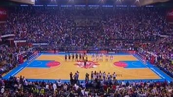 Himna Eurolige ponovo nadglasana u Beogradu