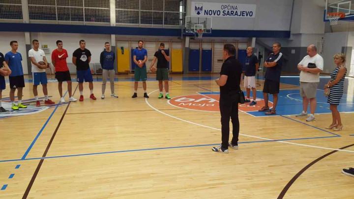 Prvi tim OKK Spars počeo sa pripremama za novu sezonu
