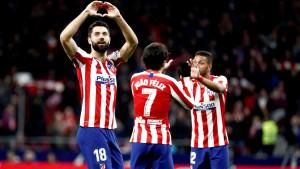 Tri gola za šest minuta u trijumfu Atletica protiv Levantea