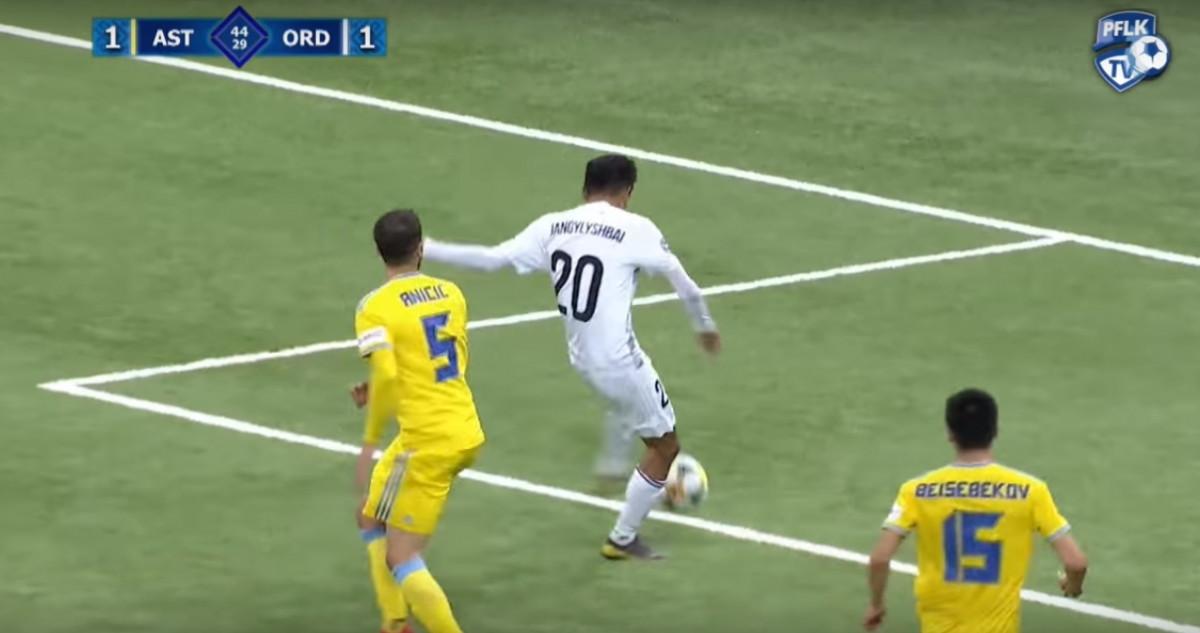 Igrač Ordabasyja sjajnom fintom izbacio Aničića koji nije znao šta ga je snašlo