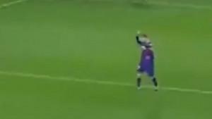 Niko sinoć nije proslavio gol Piquea kao Lionel Messi