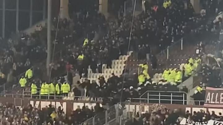 Žestoka tuča navijača Dynamo Dresdena i policije