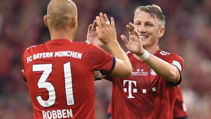 Robben i Schweinsteiger treniraju s Bayernom
