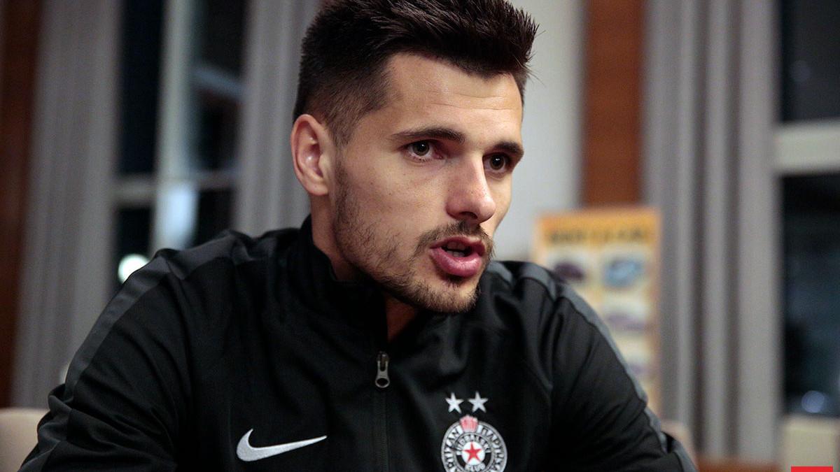 Zakarić: Selektoru Prosinečkom ne smeta što sam izabrao Partizan