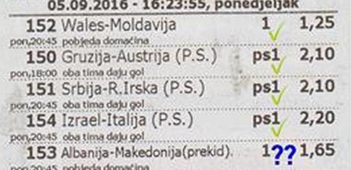 Uložio 1 KM, pogodio 22 para i čeka Albaniju za bogatstvo