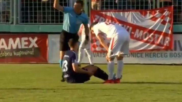 Napadač Malmoa se povrijedio nakon samo dvije minute
