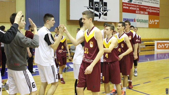 Mladi košarkaši Bosne poraženi od Partizana