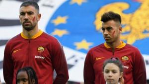 Da li vas je zbunila crvena boja na licima igrača Rome i Udinesea?