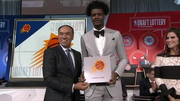 Sunsima prvi pik na NBA draftu