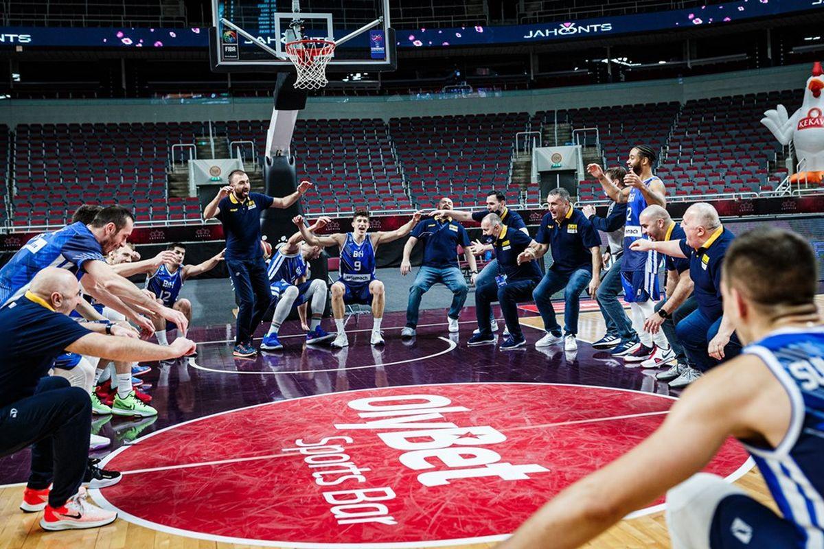 Ako se večeras ne desi čudo, BiH će biti najbolja reprezentacija u kvalifikacijama za Eurobasket