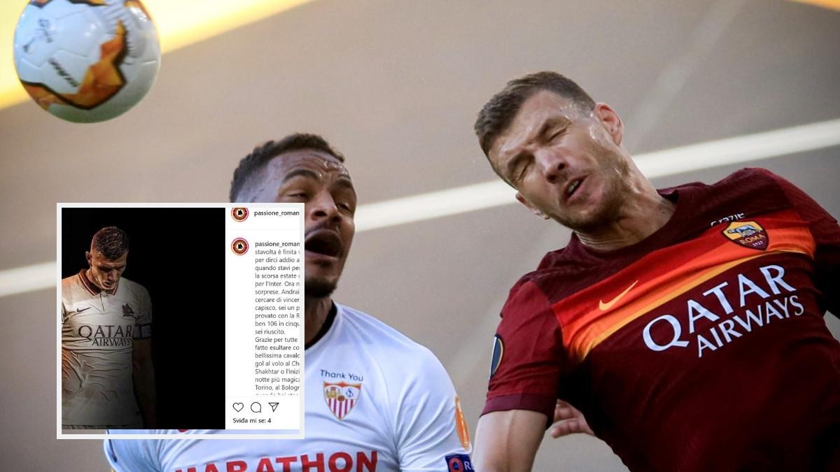 Navijači Rome se opraštaju od Džeke: Razumijemo te, profesionalac si...