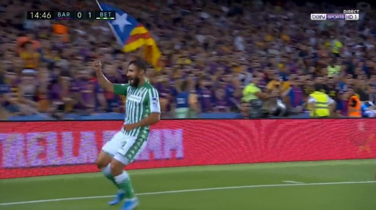 Betis potpuno izigrao odbranu Barcelone, a Fekir je na kraju postigao gol