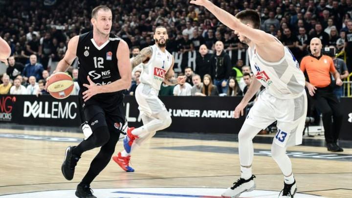 Grobari srušili rekord ABA lige, Partizan pobijedio Budućnosti i prešao na lidersku poziciju