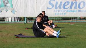 Igrači FK Sarajevo trenirali u Antaliji, danas prva prijateljska utakmica
