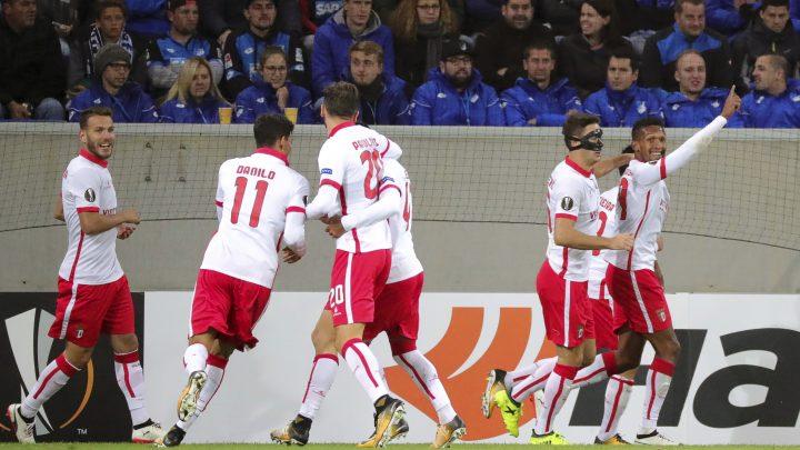 Braga iznenadila Hoffenheim, nula Bašakšehira i Ludogoretsa