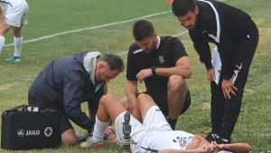 Branimir Cipetić: Mislim da nije ništa puklo, udarac je bio jak ali to se dešava u žaru igre