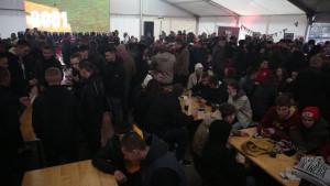 Navijači Sarajeva se u velikom broju okupili u parku Hastahana