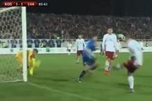 Komičan gol Kosova nasmijao je sve osim Latvijaca
