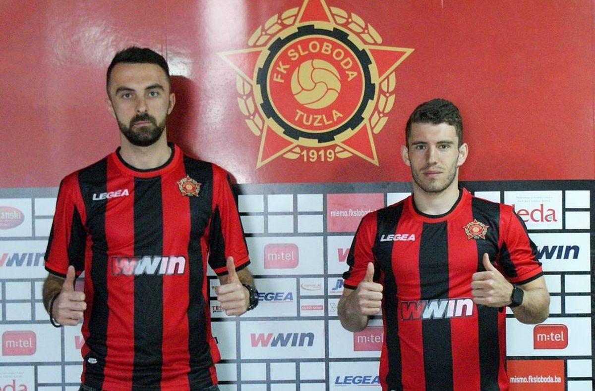 Sloboda nakon pobjede nad Željezničarom predstavila dvojicu novih igrača