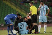 Nezgodna povreda Osmankovića na gradskom derbiju
