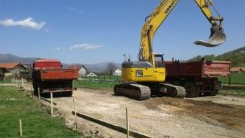 Počeli radovi na izgradnji tribine stadiona Novi Travnik