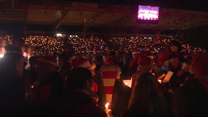 Trideset hiljada navijača proslavilo Božić na stadionu