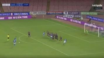 Mertens 'skinuo paučinu': Sjajan slobodnjak igrača Napolija