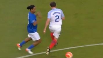 Ronaldinho osramotio Phila Nevillea, pa mu se izvinio