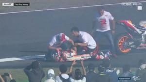 Bizaran detalj: Marquez doživio povredu na proslavi titule