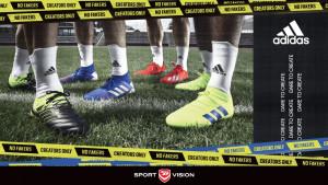 adidas Exhibit kolekcija - Kopačke dizajnirane da unaprijede igru