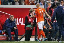 Robben ponovo izvan terena