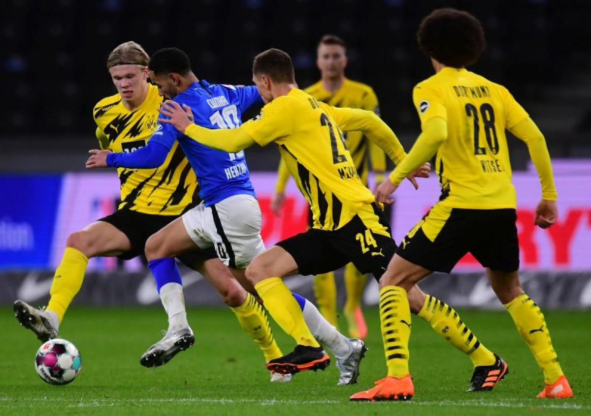 Borussija Dortmund pregazila Herthu u Berlinu
