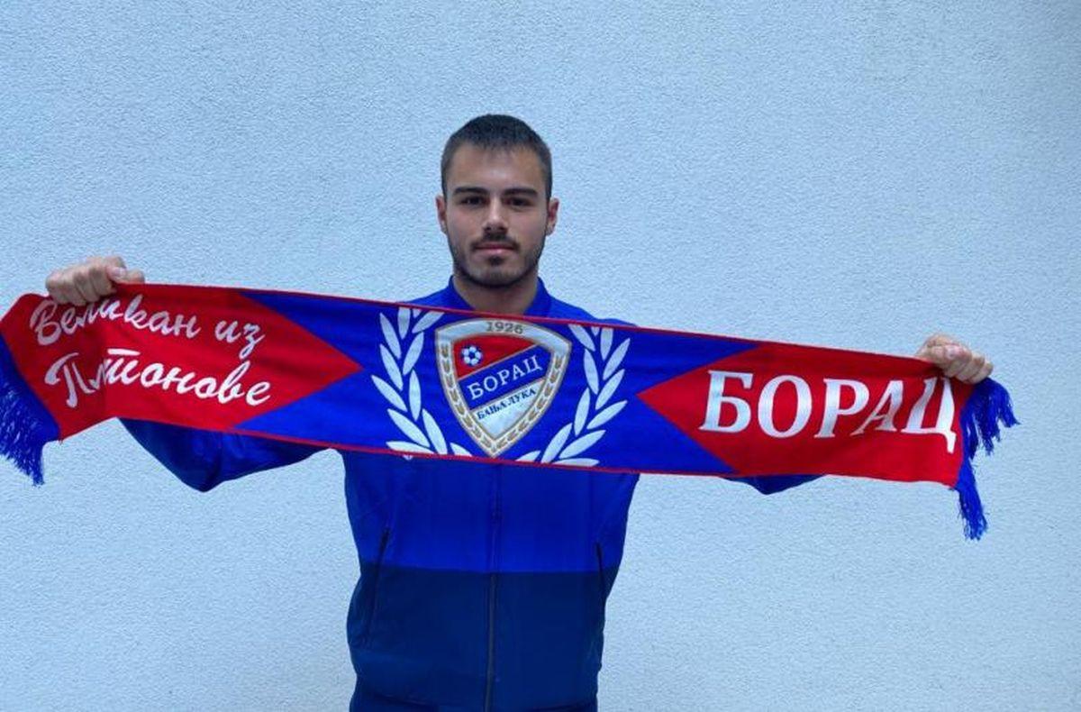 Nikola Ćetković novo pojačanje FK Borac