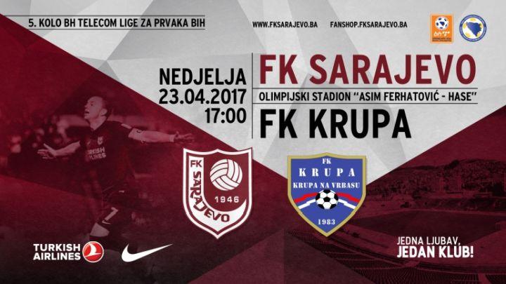 Karte za susret Sarajeva i Krupe u prodaji od danas