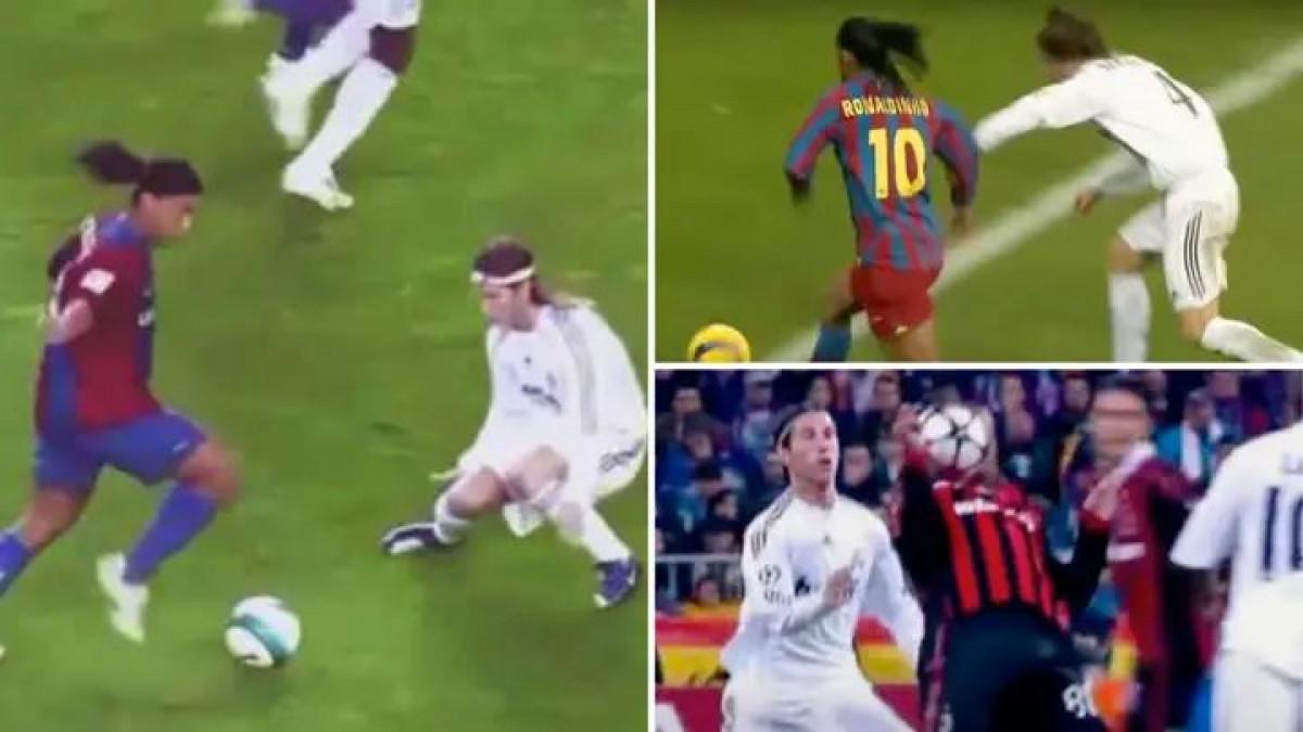 """Messi je noćna mora za Ramosa, ali ono što mu je Ronaldinho radio je bilo """"vatreno krštenje"""""""