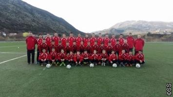 Kadeti FK Krajina Cazin na pripremama u Crnoj Gori