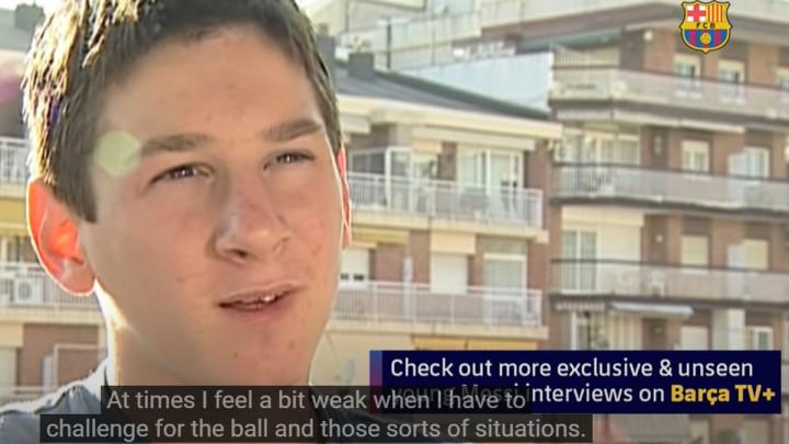 """Objavljen Messijev prvi intervju u Barceloni: """"Nedostaje mi visine..."""""""