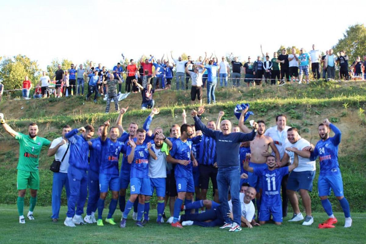 Gradina gazi ka tituli, navijači u Mionici proslavili važnu pobjedu