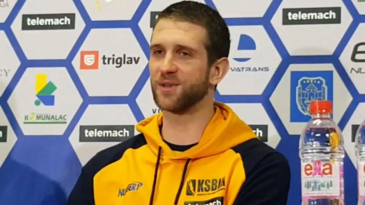 Halilović: Najbolja atmosfera u kojoj sam igrao, žao mi je što nismo pobijedili