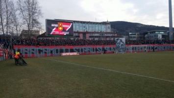 Navijači Čelika parolom prozvali sarajevske rivale