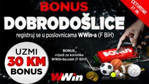 Wwin - Bonus dobrodošlice