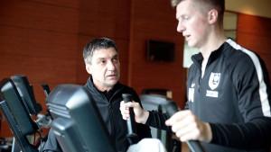 Pripreme u Antaliji: Prvotimci FK Sarajevo podijeljeni u dvije grupe odradili trening u teretani
