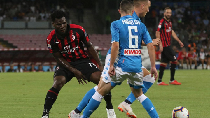 Milan se ponadao nakon 2:0, a onda su ga Napolitanci vratili u realnost